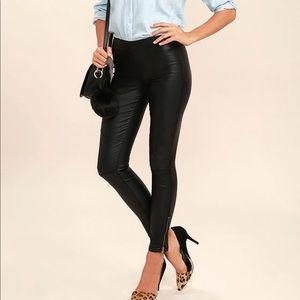 Lulus leather leggings